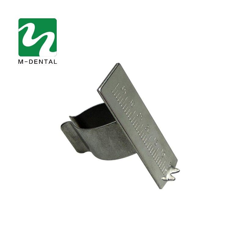 New 1PC Stainless Steel Dental Finger Ruler Span Measure