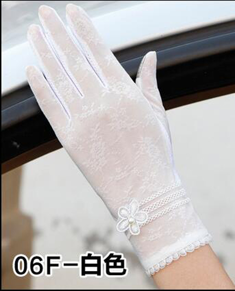 HTB1PrvKRFXXXXc5XXXXq6xXFXXXg - Sexy Summer Women UV Sunscreen Short Sun Female Gloves Fashion Ice Silk Lace Driving Of Thin Touch Screen Lady Gloves G02E