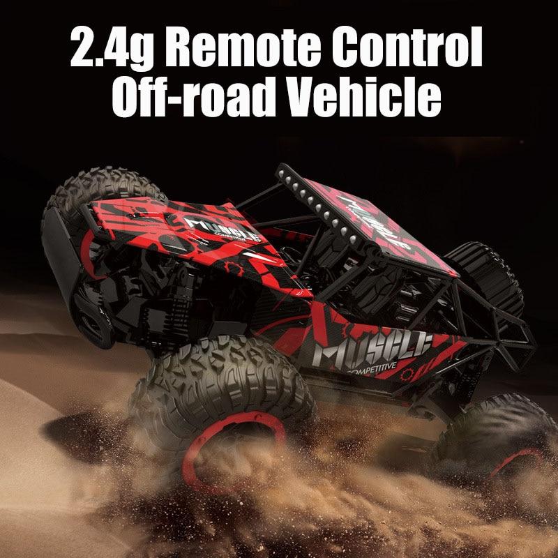 Rc Car LR-C006G 1/18 de alta velocidad 2.4G 20km / h Vehículo - Juguetes con control remoto