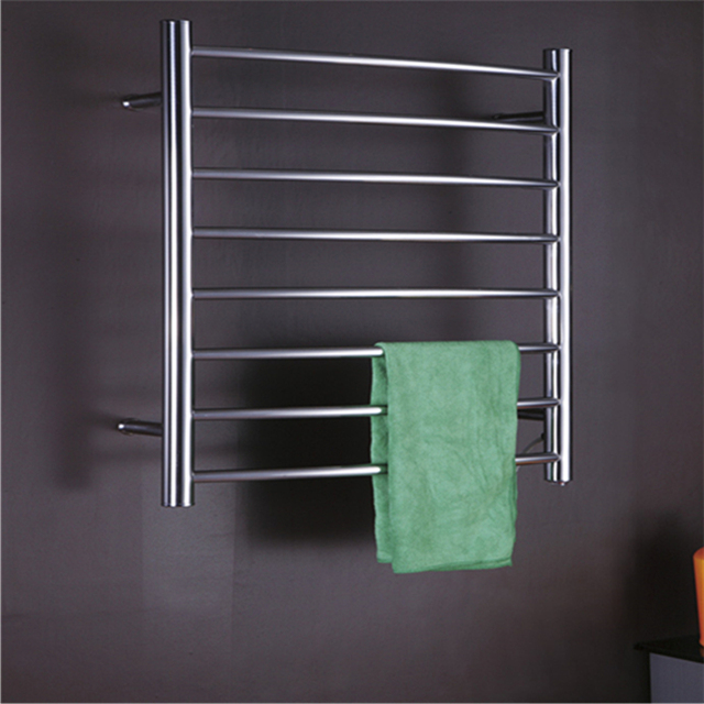 Wall Mounted Bend Bar Electric Towel Warmer/towel Rail Stainless Steel Bathroom  Accessories Heated Towel