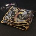 Nuevos Caballeros de Estilo A Rayas Pocket Square Floral y Pañuelo de Paisley para Hombres Traje de Boda de Bolsillo Cuadrado Pañuelo Toalla En El Pecho