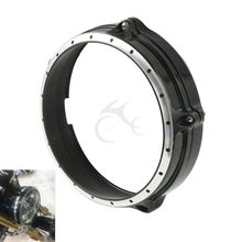 """Motorcycle 7"""" Headlight Lamp Bezel Trim Ring For BMW R Nine T ABS 2014-2016"""
