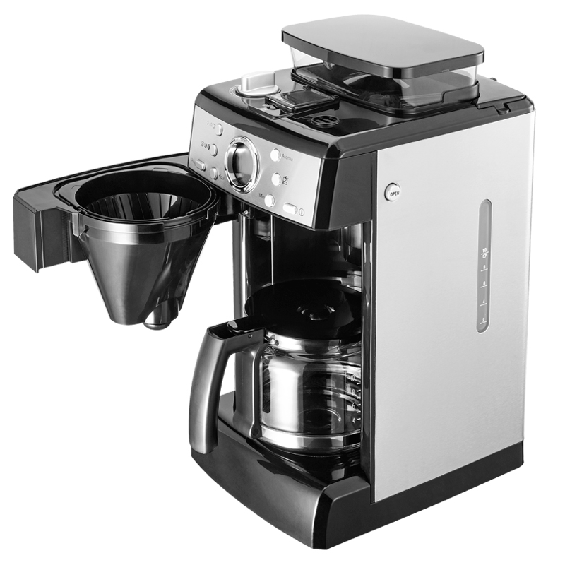 Full automatic American coffee machine office grinder Drip ...
