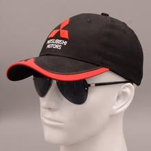 mitsubisi summer baseball caps 3D embroidered Mitsubishi hat cap car logo racing baseball cap hat adjustable casual trucket hat