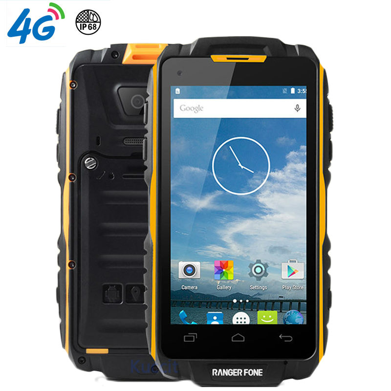 Us 189 8 Original Ranger Fone S18 Waterproof Shockproof Phone Rugged Android Smartphone Mtk6735 Quad Core 4 5