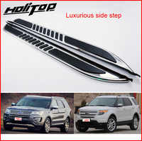 Hot Luxruious running board side step side nerf bar for Ford Explorer 2011-2019,ISO9001 quality,free shipping to Asia,promotion
