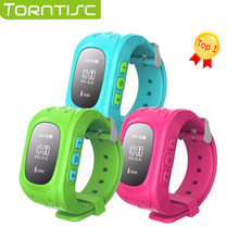 Torntisc Smart watch Q50 kids watches with sim card gps russian smartwatch smart baby watch for children Call Finder Locator(China)