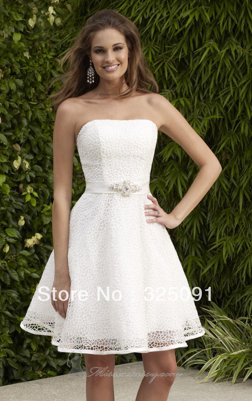 budget tea length wedding dress wedding dresses short Picture wedding dress wedding dresses tea length wedding dresses short wedding dresses