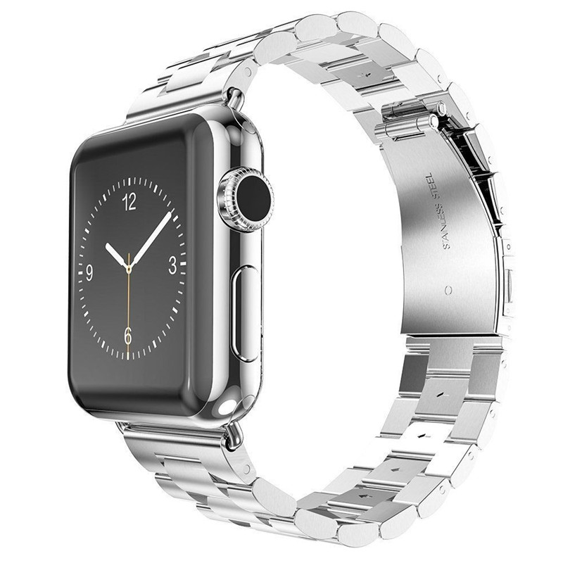 Apple Watch Sport Strand Band Link Band 44Mm 42Mm 40Mm 38Mm Series 1 2 3 4 Stainless Steel Us Fast Shipping