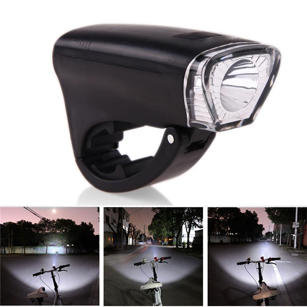 1pc Bicycle LightFor Bicycle Head Light Front Handlebar Lamp Flashlight 3000LM Waterproof LED 3 Modes 3AA Battery Bike