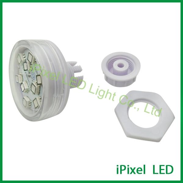 AC24V 45mm Internal control 9 smd 5050 rgb programmable led pixel light|light led car|led vehicle work light|led blue - title=