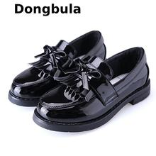 Girls Leather Shoes For Children Princess Sandals Dress School