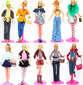 Hot! U PICK New Design Handmade Clothes Sweet Suit Set Leasure Winter Wear Dress Clothing Accessories For 1/6 Kurhn Barbie Doll