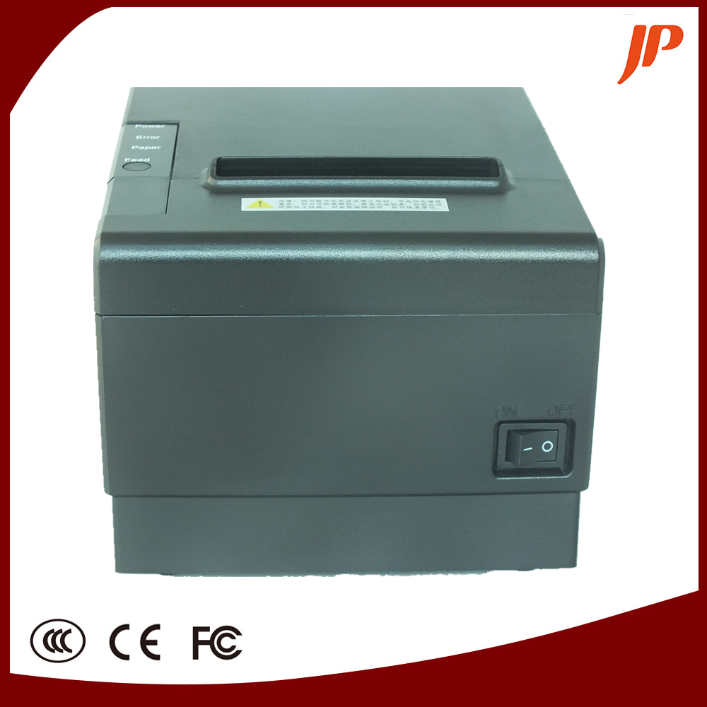 80mm Thermal receipt printer with cutter have LAN Serial Usb Interface