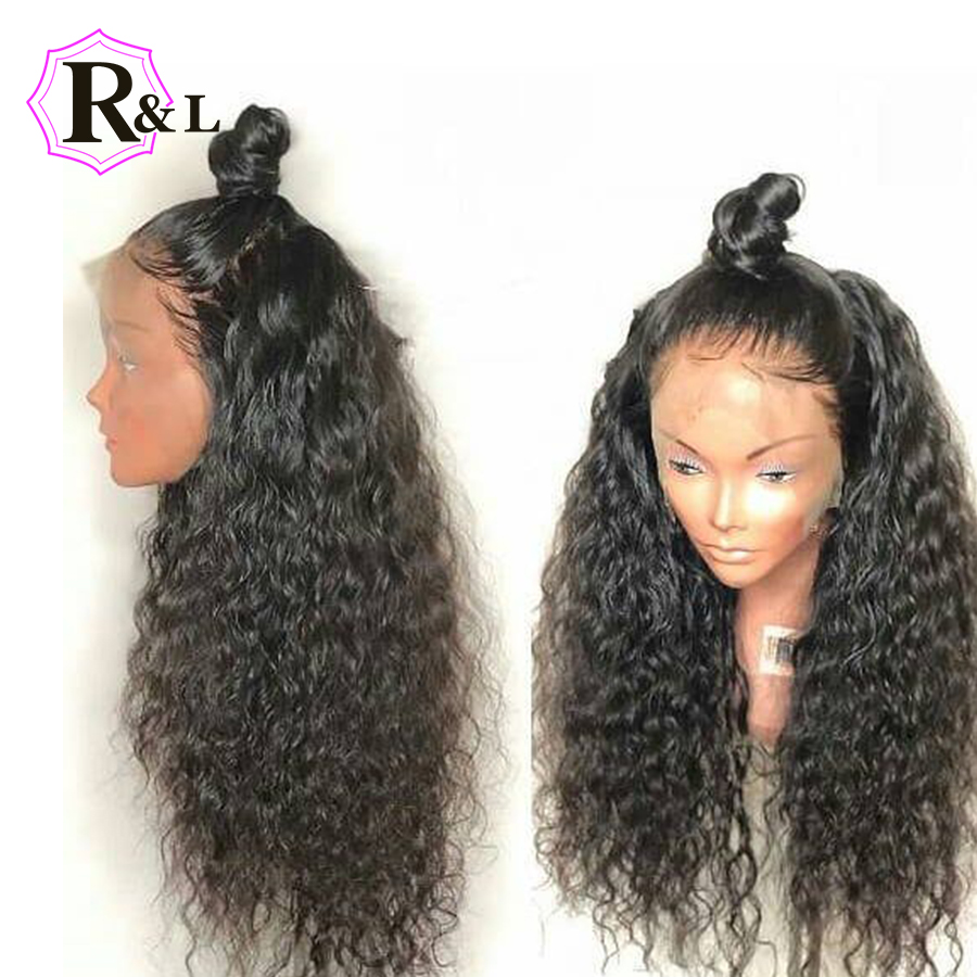 RULINDA Lace Front Human Hair Wigs For Women Kinky Curly Side Part Brazilian Remy Bob Lace