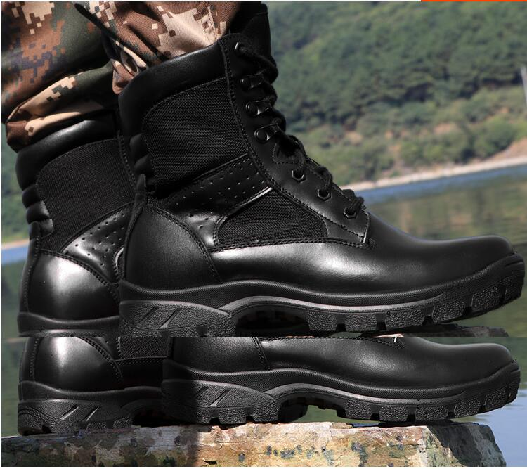 leve Preto Segurança Combate Ultra Treinamento 2018 Lado De Táticas Das Especiais Calçados Militares Botas Alta Tipo Forças Dos Do Homens 8wAH0qwU