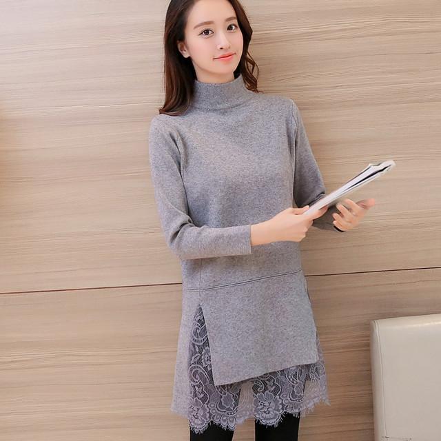 6667-2016 Corea del otoño nuevas mujeres suéter 55