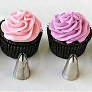 6 adet/takım Fondan Kek Sugarcraft Dekorasyon Nozullar Kek Buzlanma boru Nozullar İpuçları Mutfak fondan Mutfak aksesuarları