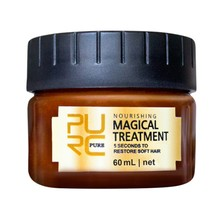 все цены на 60ml Magical Treatment Mask 5 Seconds Repairs Damage Restore Soft For All Hair Types Keratin Hair & Scalp Treatment Hair Care онлайн