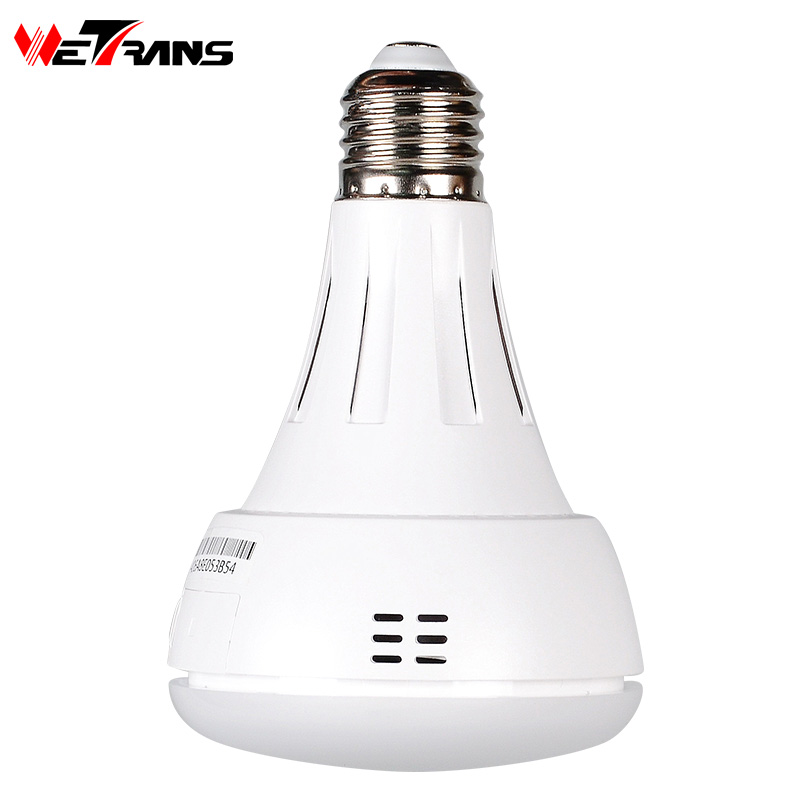 Wetrans IP Wifi Camera Light Bulb Cam HD 3MP LED P2P Mini IP Camera Wi-fi Home Security 360 Degree Panoramic Monitor Baby Audio wetrans wireless camera ip wi fi light bulb hd 3mp led security smart cctv camera panoramic wi fi alarm p2p audio night vision