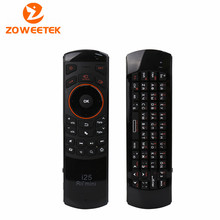 Original Russian Rii i25 Keyboard 2.4G Mini Wirless Keyboards with Air Fly Mouse High Quality For PC HTPC Smart Android TV Box