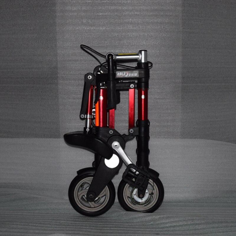 Прямая продажа с фабрики 8-дюймовый новейший обновленный мини ультра легкий складной алюминиевый Портативный горный велосипед