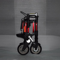 Factory direct sale 8 inch latest upgrade mini ultra light folding bicycle aluminum portable mountain bike