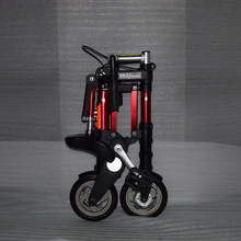 Factory direct sale 8-inch latest upgrade mini ultra light folding bicycle aluminum portable mountain bike