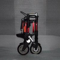 Factory direct sale 8 inch latest upgrade mini ultra light folding bicycle aluminum portable mountain bike