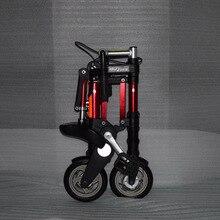 Factory direct sale 8-inch latest upgrade mini ultra light folding bicycle alumi