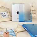 Мода Градиент ТПУ Прозрачный Чехол Для iPad Mini Case Ultra Thin красочная Радуга Мягкий Чехол TPU Для iPad Mini 1 2 3 4
