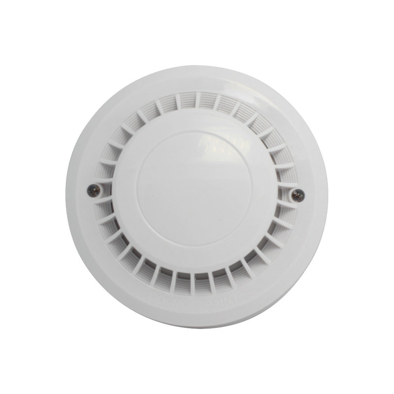 Home Security Fire Control Alarm Wire Heat Smoke Sensor NC NO Signal Output Adjustment Intelligent Alarm System Accessories