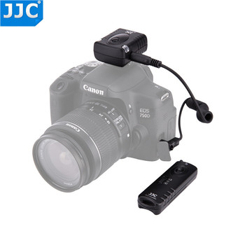 JJC-controlador de liberación de obturador remoto inalámbrico para cámara, 433MHz, RF, para...