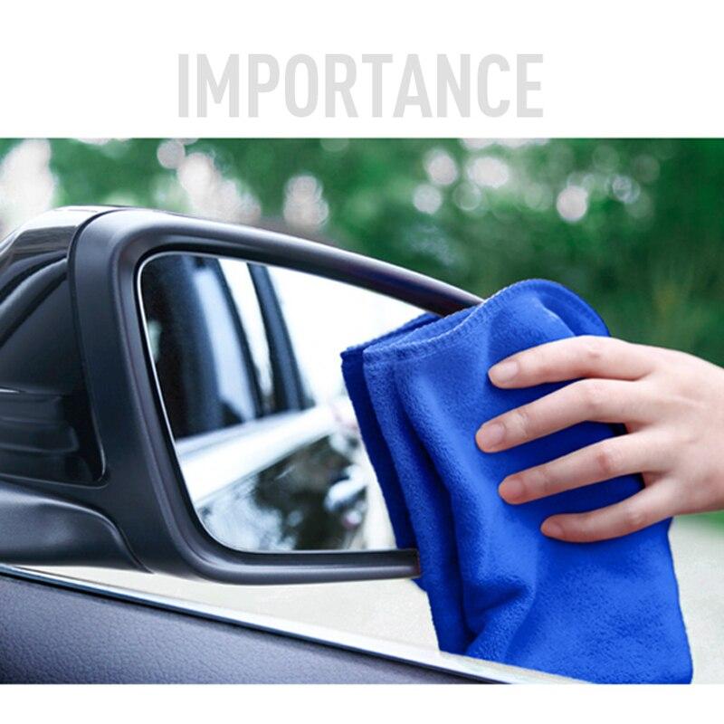 Auto-styling 1 Stks Auto wassen handdoek microfiber Auto schoon tool voor Hyundai i30 Peugeot 206 307 Chevrolet cruze auto acessories