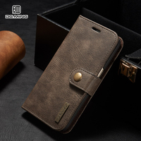 S7 S7 Edge Luxury Retro Multi Functional 2 In 1 Genuine Leather Wallet Case For Samsung