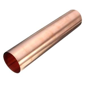 Image 4 - 1Pc 99.9% ทองแดงบริสุทธิ์ทองแดงแผ่นโลหะบางฟอยล์ม้วน0.1มม.* 100มม.* 100มม.