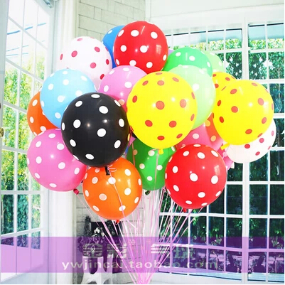 Party Supplies Polka Dot Air Balloons Wedding Marry Marriage Room