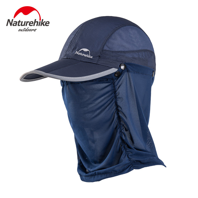 Naturehike Summer Sun Hat Men Women Boonie Hat with Neck Flap Outdoor UV Protection camping Hiking Fishing Breathable cap