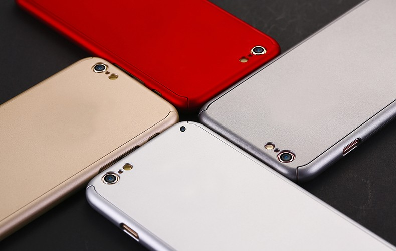 Floveme 6 s 7 plus armor screen protector 360 stopni case dla iphone 7 6 6 s dla iphone 6 6s 7 plus full chroń odporny na wstrząsy pokrywa 19