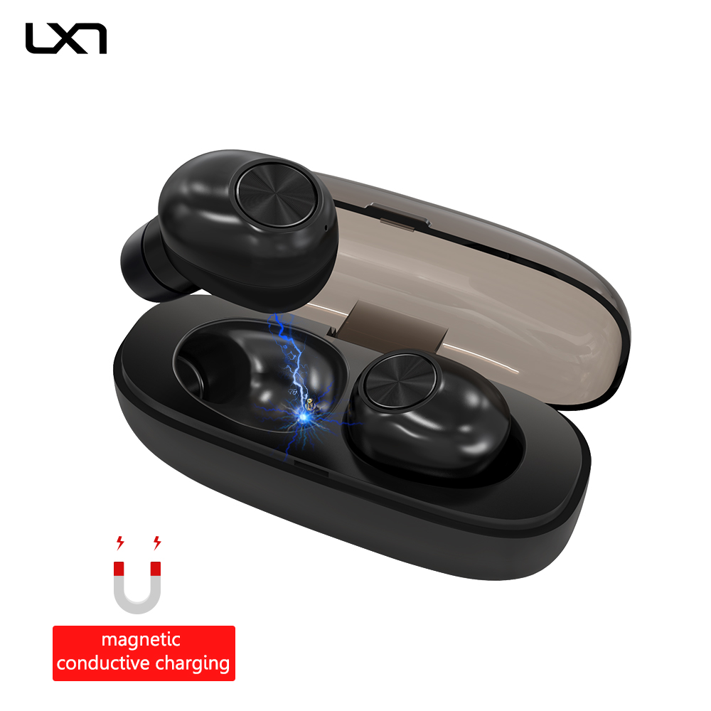 LXT E6 TWS V5 0 Bluetooth Headphones Wireless Earphones Stereo Bluetooth Headset Earbuds Sport Earphone for