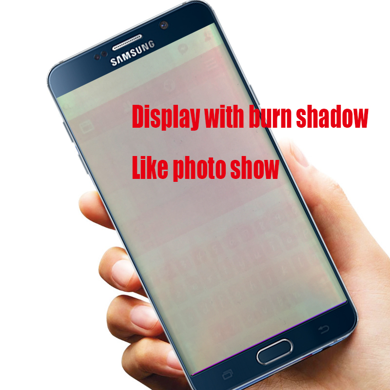 ORIGINAL 5.7'' LCD with frame Burn Shadow Display for SAMSUNG Galaxy Note 5 N9200 N920T N920A N920I N920G Touch Screen Digitizer-in Mobile Phone LCD Screens from Cellphones & Telecommunications    2