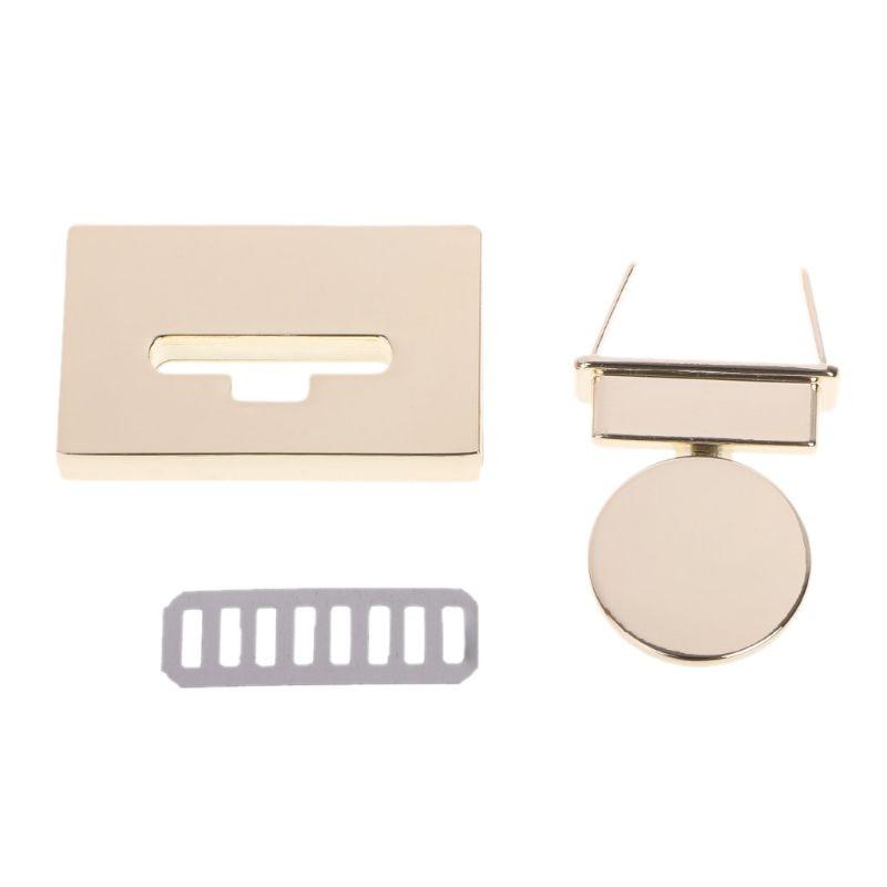 New Rectangle Clasp Turn Lock Twist Locks Metal Hardware For DIY Handbag Bag PurseNew Rectangle Clasp Turn Lock Twist Locks Metal Hardware For DIY Handbag Bag Purse