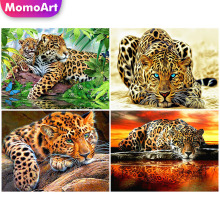 MomoArt Diamond Painting Tiger Mosaic Animal Full Square/round Stones 5d Embroidery Home Decoration
