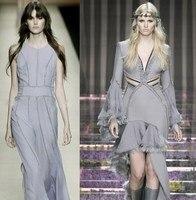 Wholesale Grayish Purple Cotton Chiffon Fabric Linen Fabric Meter Textiles Tulle Fabrics Chinese Fabric Suppliers B036