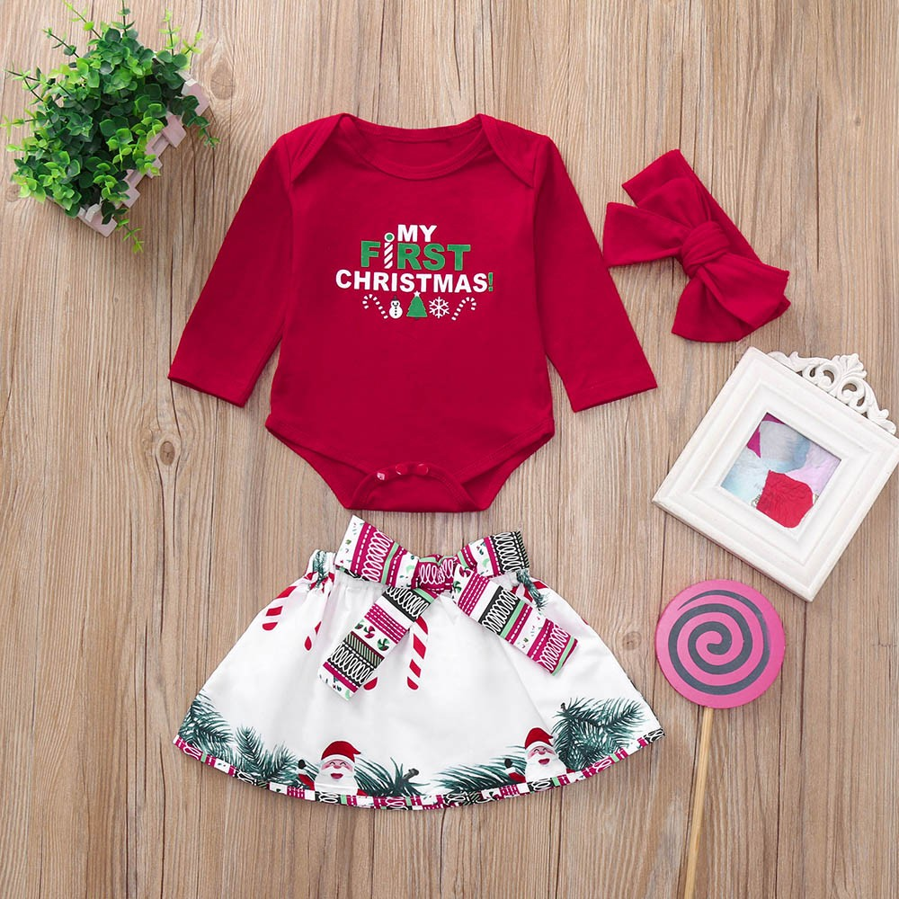 c0c3d607d MUQGEW Newborn Infant Baby Girl Deer Floral Romper Tops+Pants ...