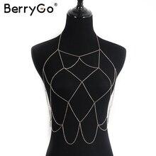 BerryGo Sexy решетки выдалбливают аксессуары Summer beach party золото аксессуары Вечерний клуб женщин аксессуары