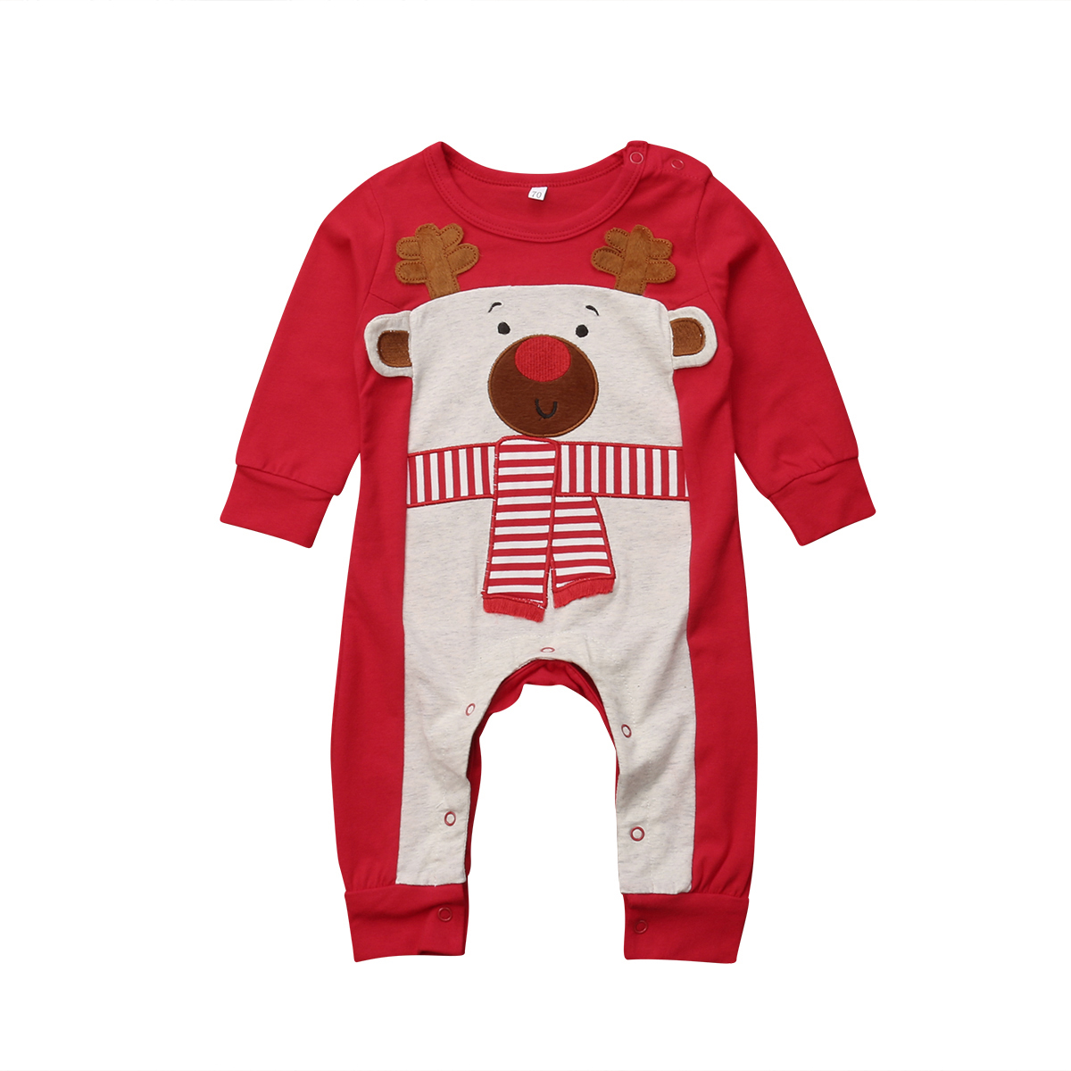 Rompers Girls' Baby Clothing Adaptable Brand New Kids Newborn Baby Boy Girl Kids Christmas Bear Coverall Romper Jumpsuit Playsuit Clothes Outfit