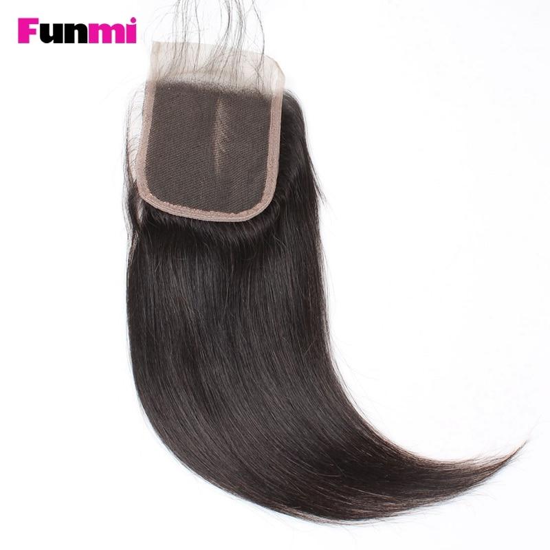 Funmi Raw Indian Straight kose Bundle sa zatvoriti 3 Bundle s - Oprema za frizerske salone - Foto 2
