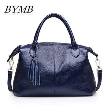 100% Genuine Leather Women Shoulder Bag Brand Designer Cowhide Real leather women bag Large Fashion Hobos Crossbody Handbag