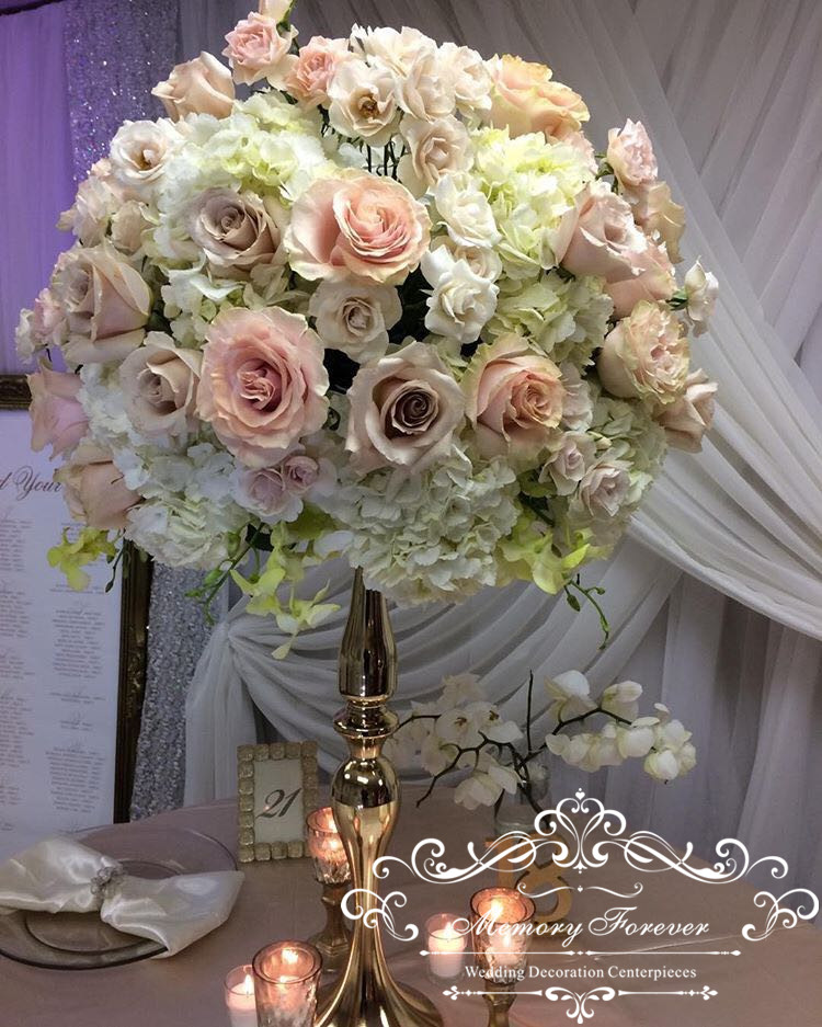 Wedding Flowers Centerpieces Cost: Reversible Mermaid Floral Stand Riser Pillar Candle Holder